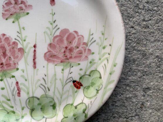 piatto ceramica Virginiaa casa