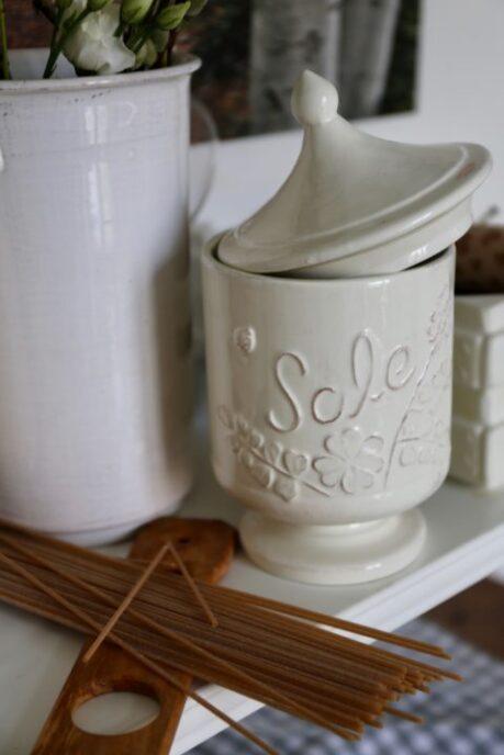 porta sale ceramica