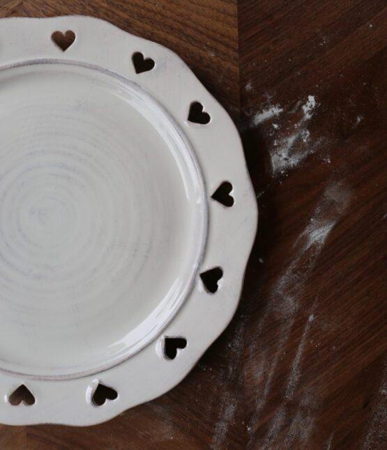 piatto caterina bianco