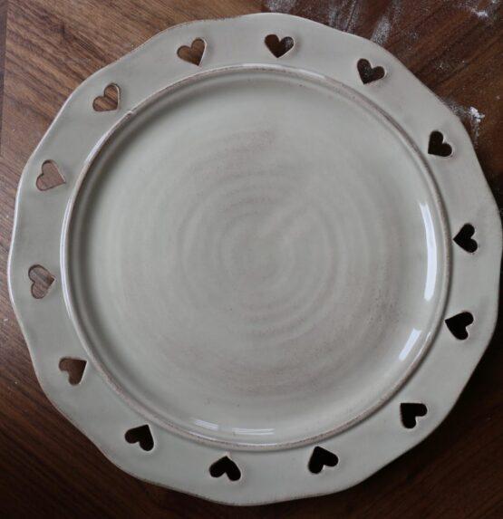 piatto ceramica caterina