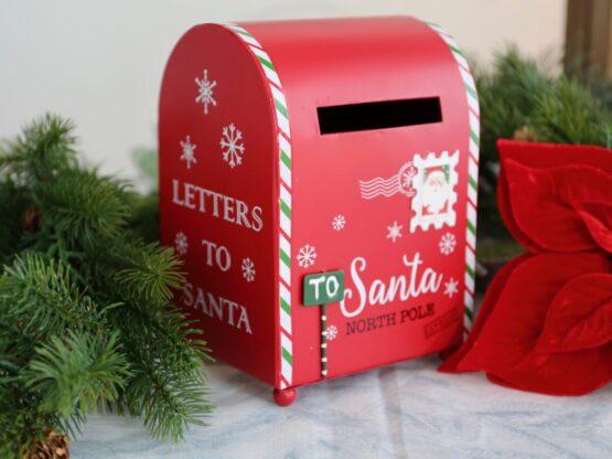 cassetta delle lettere per Babbo Natale