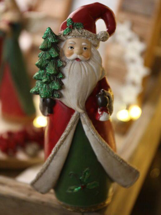 statuetta Babbo Natale fronte