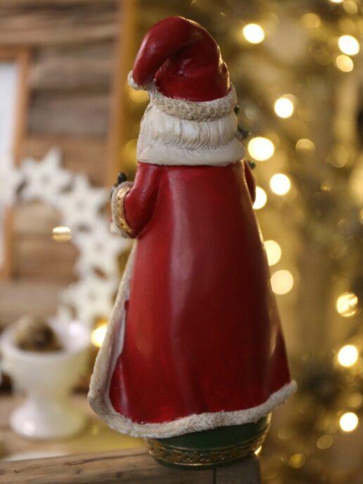 statuetta Babbo Natale retro