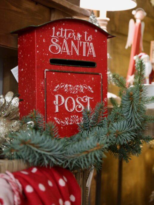 cassetta delle lettere per Santa Claus