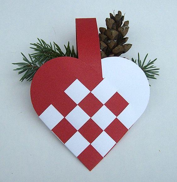 cuore di carta danese