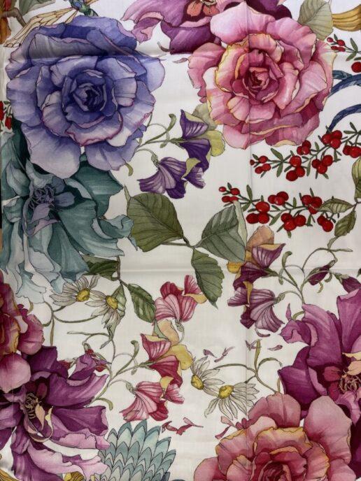 tessuto fantasia floreale