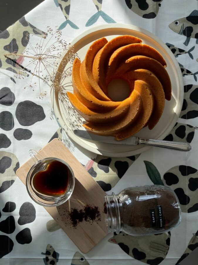 tazzina love coffee mug barattolo caffè in polvere torta caffé cioccolato taovaglia